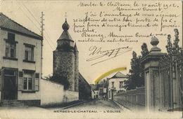 Merbes-Le-Chateau : Eglise  ( Ecrit 1902 Avec Timbre ) - Merbes-le-Château