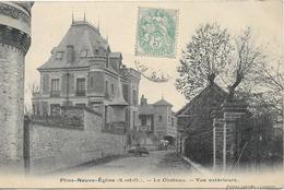 FLINS NEUVE EGLISE Le Château - Flins Sur Seine