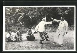 AK Malaysia, Malay Dance, Peucak Silat - Ansichtskarten