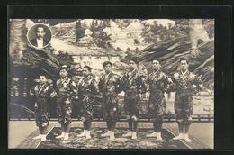 AK Japanische Artisten-Familie, The Riogoku Family - Unclassified