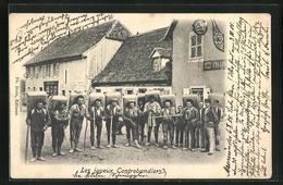 AK Schmuggler An Der Deutsch-Französischen Grenze - Zoll