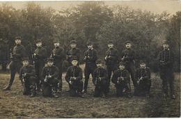 FONTAINEBLEAU Carte Photo Militaire Du 7 ème Dragons - Fontainebleau