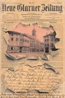 GLARUS - Neue Glarner Zeitung 1 - H. Guggenheim. - GL Glarus