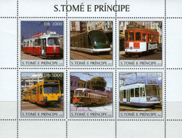 Sao Tome 2003 Trams - Sao Tome And Principe