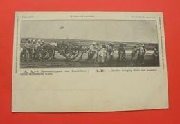 Ca. 1900 - Coolies Bringing Guns Into Position - Printing Shanghai China --- 146 - Chine