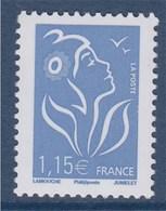 = Marianne De Lamouche 1.15€ Bleu Ciel N° 3970 Phil@poste Neuf Gommé - 2004-08 Marianne Of Lamouche