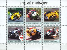 Sao Tome 2003 Motorcycles - Sao Tome And Principe
