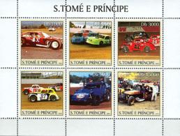 Sao Tome 2003 Stock Cars - Sao Tome And Principe