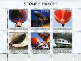 Sao Tome 2003 Balloons, Airships - Sao Tome And Principe