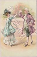 Couple Danse Le Menuet En Tenue D'Époque (1) (Recto-Verso) - 1900-1949