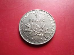 FRANCE   1  Franc   1962   -- TTB --  Roty - Francia