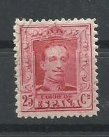 ESPAÑA EDIFIL   317  MH  * - 1889-1931 Reino: Alfonso XIII