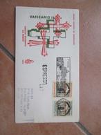 1962 Targhetta S.PIETRO Su Serie N.2 Valori Concilio Ecumenico Vaticano II Busta Venetia ESPRESSO  Arrivo Al Verso RELIG - 1961-70: Marcofilia