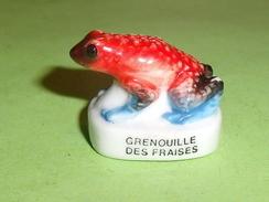 Fèves / Animaux  : Grenouille Des Fraises  T96 - Animali