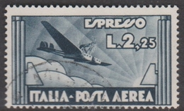 Italy PA 44 1933 Express Air Mail, Used - 1900-44 Vittorio Emanuele III