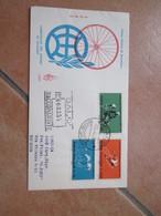 1962 Campionati Mondiali CICLISMO Serie N.3 Valori Timbro Salò Sede Manifestazione Raccomandata Timbro Arrivo - 1961-70: Marcofilia