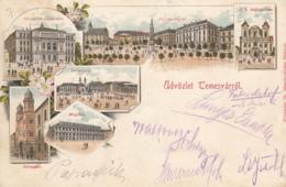Old Postcard Timisoara Litho - Romania