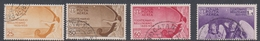 Italy PA 90-93 1935 Centenary Death Of Bellini, Air Mail 4 Val, Used - 1900-44 Vittorio Emanuele III