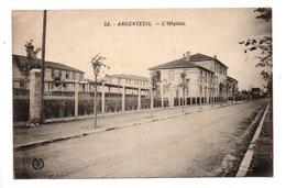 95 - ARGENTEUIL . L'HÔPITAL - Réf. N°22324 - - Argenteuil