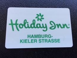 Hotelkarte Room Key Keycard Clef De Hotel Tarjeta Hotel HOLIDAY INN HAMBURG KIELER STRASSE - Telefonkarten