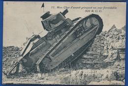 Char D'Assant Du 506° R.C.C    Grimpant Sur Un Mur - Materiale