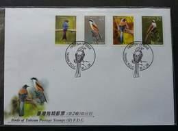 Taiwan Birds II 2008 Bird Fauna (FDC) - 1945-... Republic Of China