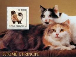 Sao Tome 2003 Fauna   Cats - Sao Tome And Principe