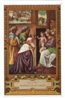 (Chromos) Chocolaterie D'Aiguebelle 039, Chromo Carte Postale, Les Chefs D'Œuvre De L'Art Religieux, Luini - Aiguebelle