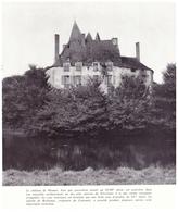 1966 - Iconographie - Saincaize-Meauce (Nièvre) - Le Château De Meauce - FRANCO DE PORT - Vieux Papiers