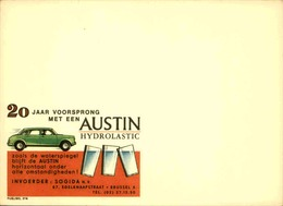 BELGIQUE - Publibel , Support Publicitaire Avant L' Impression De La Valeur - L 30638 - Stamped Stationery