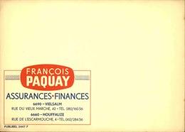 BELGIQUE - Publibel , Support Publicitaire Avant L' Impression De La Valeur - L 30647 - Stamped Stationery