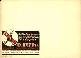 BELGIQUE - Publibel , Support Publicitaire Avant L' Impression De La Valeur - L 30661 - Stamped Stationery