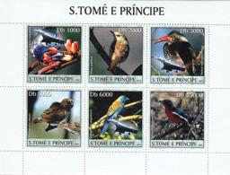 Sao Tome 2003 Fauna Birds & Concorde - Sao Tome Et Principe