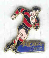 @@ Rugby Joueur Sponsor Adia Intérim (2.7x2.4)  @@sp175 - Rugby