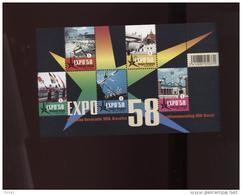 Belgie 2008 BL158 3804/08 World Expo 1958 Atomium Brussels MNH - Belgium