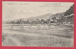 China / Chine - Mission De Scheut - Kan-Sou Sud - Pont Jeté Sur Le Lu-Ho  ( See Always Reverse ) - Cina