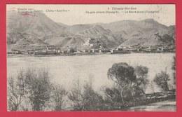 China / Chine - Mission De Scheut - Tchoung-Wei-Sien - Le Fleuve Jaune Hoang-ho  ( See Always Reverse ) - Cina