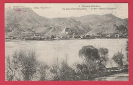 China / Chine - Mission De Scheut - Tchoung-Wei-Sien - Le Fleuve Jaune Hoang-ho  ( See Always Reverse ) - Chine