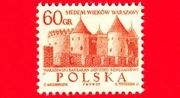 POLONIA - Usato - 1965 - 700° Anniversario Di Varsavia - Barbican, Castello Gotico-rinascimentale - 60 - 1944-.... Repubblica