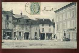 88 - MATTAINCOURT - LA PLACE- GEANT DEVANT L'HOTEL ET CAFE DES VOSGES - VINOT, FABRICANT DE CHAUX - France