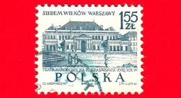 POLONIA - Usato - 1965 - 700 Anni Della Città Di Varsavia - Teatro Nazionale - 1.55 - 1944-.... Repubblica