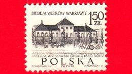 POLONIA - Usato  - 1965 - 700 Anni Di Varsavia - Arsenale, XIX Secolo - 1.50 - 1944-.... Repubblica