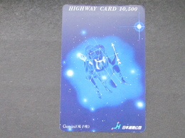 JAPAN HIGHWAY PREPAIDCARD Y 10.500 - SIGN OF THE ZODIAC, GEMINI - Giappone