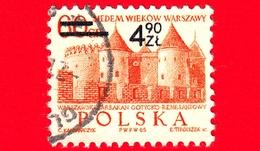POLONIA - Usato - 1972 - USATO - 700 Anni Di Varsavia - Barbican, Castello Gotico-rinascimentale - 4.90 Su 60 Gr - 1944-.... Repubblica