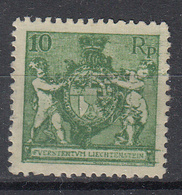 LIECHTENSTEIN - Michel - 1921 - Nr 50B (T/D: 12 1/2) - MH* - Liechtenstein