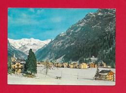 CARTOLINA VG ITALIA - GRESSONEY ST. JEAN (AO) - Panorama E La Catena Del Monte Rosa - 10 X 15 - ANN. 1968 - Altre Città
