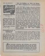 "WWII WW2 Flugblatt Leaflet Soviet Propaganda Against Germany ""Auslands-Nachrichten"" Mai 1942 Nr. 161  CODE 1287 - 1939-45"
