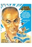 Louis De  Funès - Affiches Sur Carte
