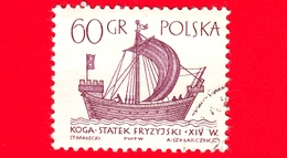 """Nuovo - MNH - POLONIA - 1965 - Imbarcazione - Barche A Vela - Frisone """"Kogge"""" - 60 - 1944-.... Repubblica"""