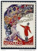 "Monaco YT 2602 "" Festival Du Cirque "" 2007 Neuf** - Monaco"